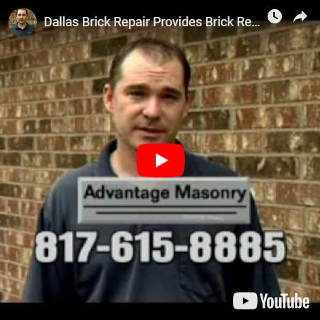 Brick Repair Video Featuring Joe Nech